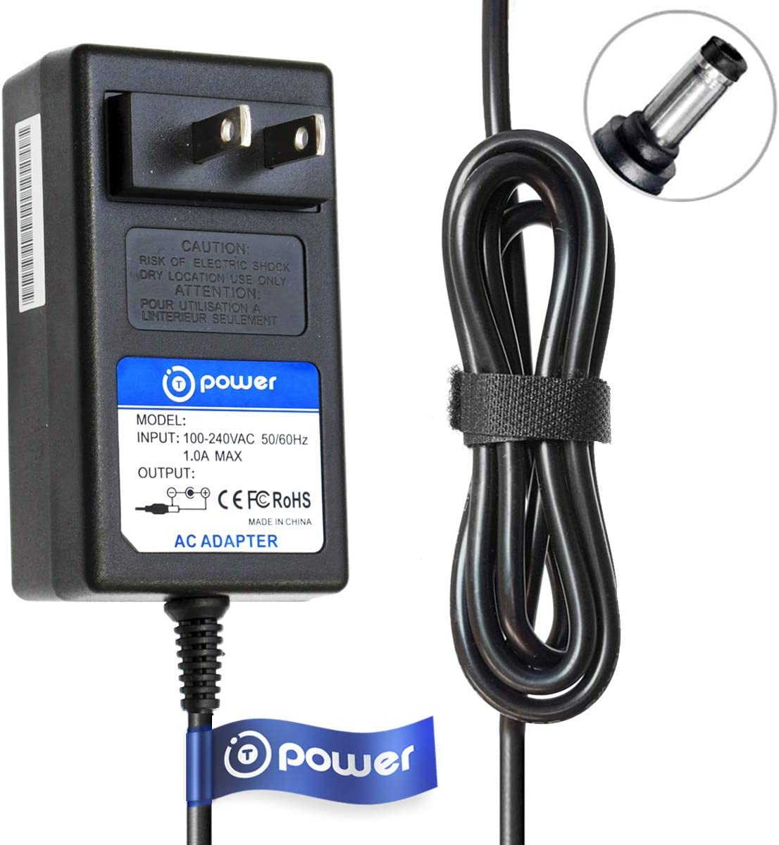 T-Power Ac Dc Adapter Charger Compatible with Williams Allegro 88-Key Piano & Yamaha Digital Piano Midi Keyboard Series: YPG, YDP, YPP, YPR, YPT, CP, DGX, DJX, DSR, DX, EZ, NP Power Suppl;y
