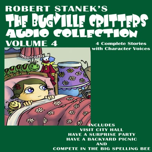 The Bugville Critters Audio Collection 4 audiobook cover art