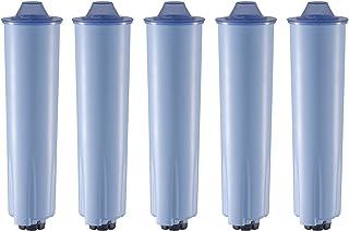 Lot de 5 cartouches filtrantes compatibles avec les machines à café Jura ENA Blue