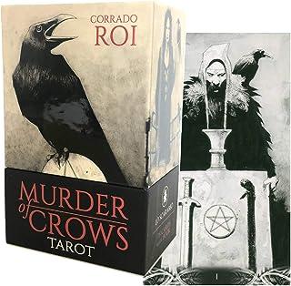 タロットカード 78枚 タロット占い 【 マーダー・オブ・クロウズ タロット Murder of Crows Tarot 】 日本語解説書付き [正規品]