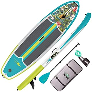 """DRIFT 10'8"""" Inflatable Stand Up Paddle Board, SUP with Accessories 