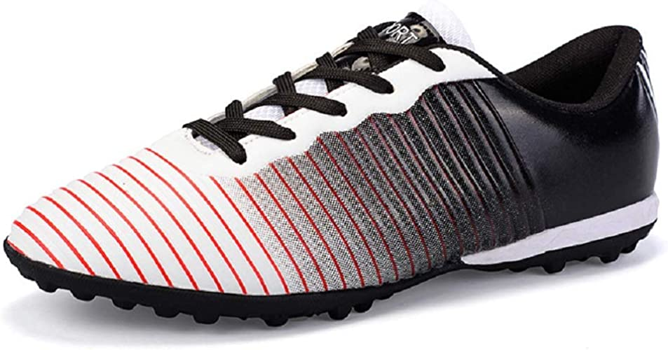 DDSHYNH Chaussures de Football de Gazon Unisexes, Chaussures de Football pour Hommes et Garçons, Bottes de Football antidérapantes de Haute qualité pour Enfants