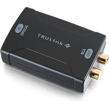 Optical Coaxial Toslink Digital to Analog Audio Converter RCA L//R EU-Stecker FO