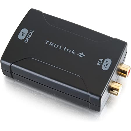Trintion DAC Converter Digital to Analog Audio Converter RCA Audio Adapter