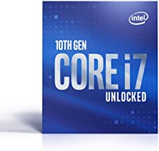 Intel® Core™ i7-10700K Desktop Processor 8 Cores up to 5.1 GHz Unlocked  LGA1200 (Intel® 400 Series chipset) 125W