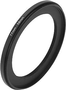 Moligh doll 77mm-58mm 77mm 58mm Black Step Down Ring for Camera...