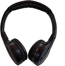 TOPXCEGUU A10 IR Wireless Headphones for Car DVD Player Headrest Video,On-Ear Infrared..