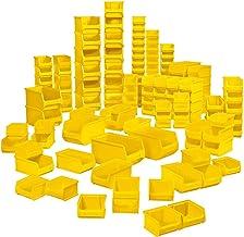 MFH - Lote de 100 cajas transparentes (calidad industrial, 55 x tamaño LB6 + 35 x tamaño LB5 + 10 x tamaño LB4)