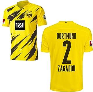 PUMA Borussia Dortmund BVB Heimtrikot 2020 2021 Home Trikot Sponsor BL Logo Herren Kinder Spieler Name gelb