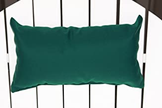 product image for Outdoor Adirondack Chair Head Pillow in Sundown Material- Forest Green