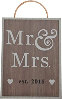 Mr and Mrs est 2018 Wedding Sign for BEST WEDDING GIFT IDEAS!!! (2018)
