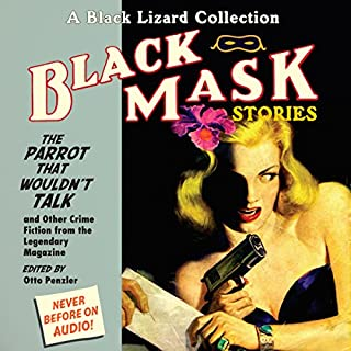 Black Mask 4: The Parrot That Wouldn't Talk audiobook cover art