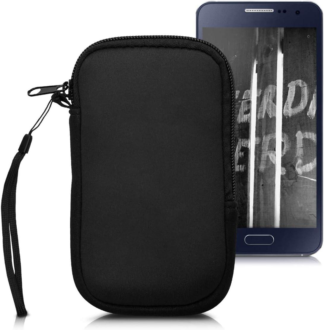 kwmobile Neoprene 1 year warranty Phone Pouch Size M Sle overseas 5.5