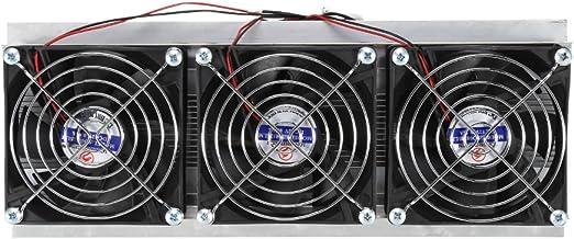 Semiconductor Refrigeración enfriador topincn thermoelektrisches Sistema de refrigeración de agua DIY dispositivo con ventilador 240W