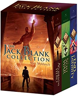 The Jack Blank Collection: The Accidental Hero; The Secret War; The End of Infinity (A Jack Blank Adventure)