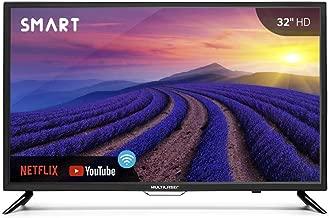 """Tela 32"""" HD Multilaser com função Smart, Wifi, HDMI, USB com Conversor Digital e Wifi integrado - TL002"""