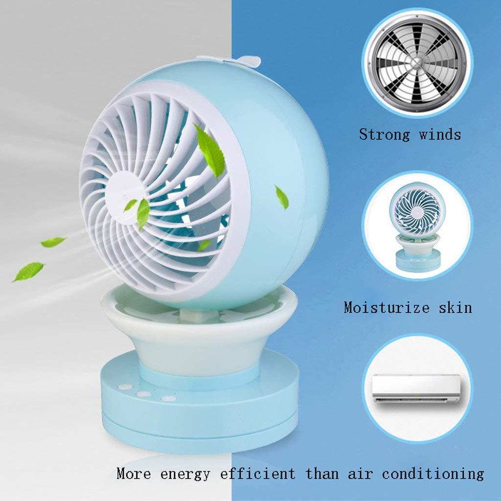 Pequeño ventilador de mano Hjhran Small Personal Fan USB ...