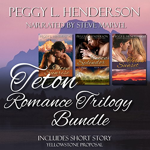 Teton Romance Trilogy Bundle audiobook cover art