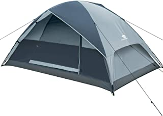 Embarquer 2 Personne Dôme Tente Camping-Neuf-rouge-Configuration facile /& Imperméable