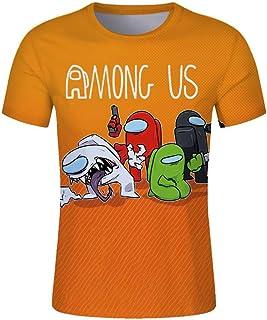 Among us T-Shirt Gaming Impostor Character T-Shirt Boys Girls Viral Gamer Tee Top
