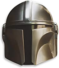 Haho The Mandalorian Helmet Star Wars COS Play Injection Molded Model PVC Silver White