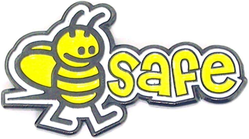PinMart Japan Maker New Bumblebee Safe Safety Ranking TOP6 Lapel Enamel Pin