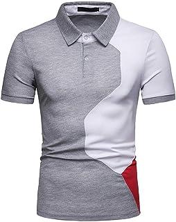 Amazon.es: camiseta rayas rojas y negras XL Hombre: Ropa