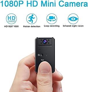 كاميرا خفية صغيرة بدقة 1080 بكسل عالية الدقة تسجيل فيديو كاميرا IP صغيرة 140 درجة واسعة الزاوية لاسلكية للتجسس كاميرا مراق...