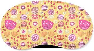 Winter Poppy Garden Yellow - Sleeping Mask - Sleeping Mask