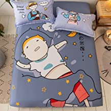 to Fit Snugly Around Your Mattress,Pure Cotton Cartoon Fashion 3-Piece Bed Linen,Single and Double Children's Bedroom Apar...