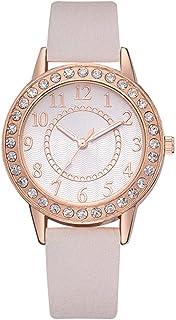 Wristband Women's Wrist Watches Ladies Series Girls Watch Female for Women Women's Watch Quartz Watch Student Diamond pu,C...