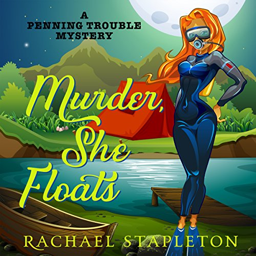 Murder, She Floats audiobook cover art
