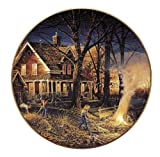 Wild Wings Autumn Evening Collector Plate by Terry Redlin