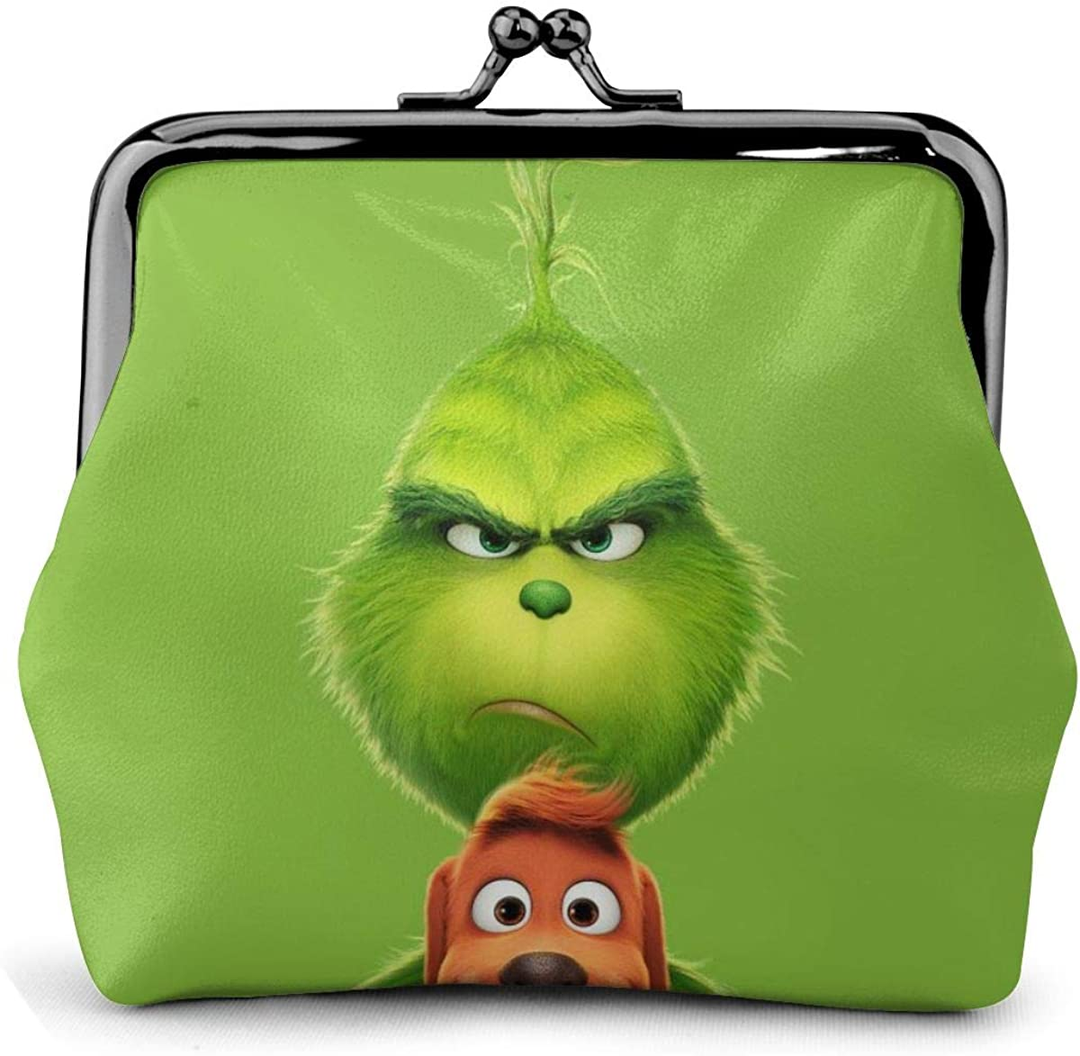 Max 45% OFF Free Shipping New The Grinch Coin Purse,Womens Wallet PU Bag Clutch Retro Ladies