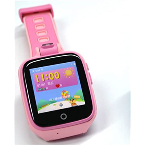 4G Network Smart Watch for Kids, Camera GPS/LBS/WiFi Tracker SOS Social