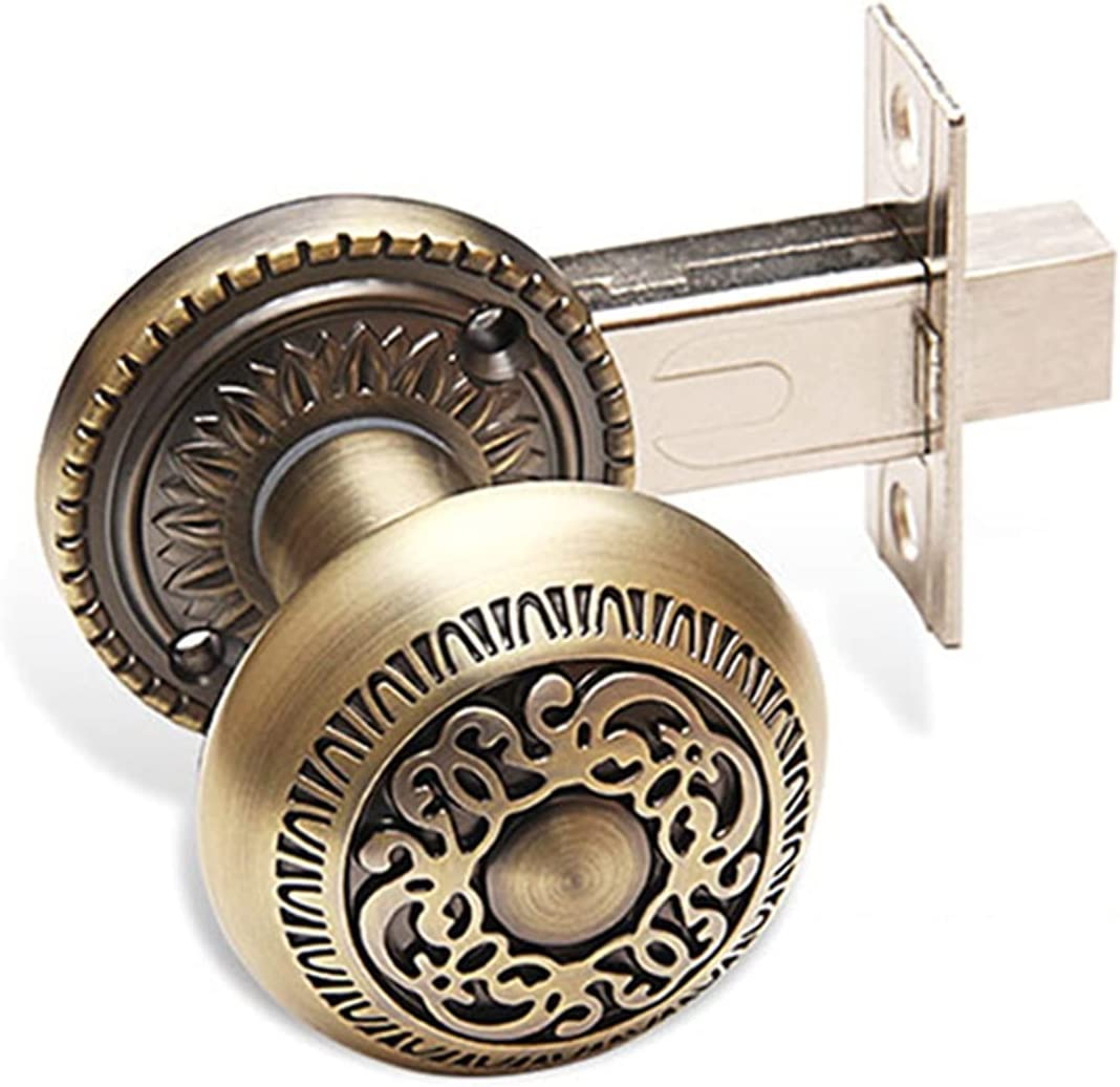 CHENGSYSTE Push Pull Handles Retro European Lo A surprise price is realized Style Door In stock Carved