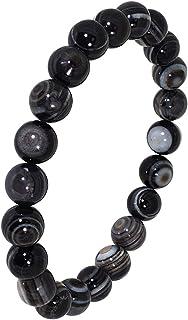 新宿銀の蔵 8mm玉 天眼石ブレスレット 長さ約18.5cm (メンズL レディースLL サイズ) 天然石 パワーストーンブレスレット