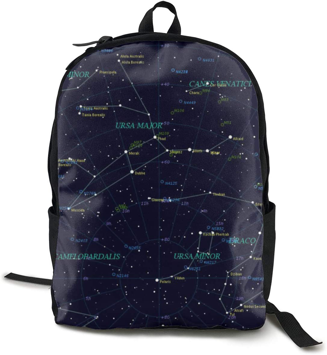 Starry Sky Constellation Cute Cartoon Weekly update Capa Rucksacks Large Quality inspection Star