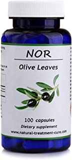 Hekma Center Pure Olive Leaf - Olea Europaea - 100 Capsules - Vegan