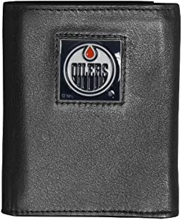 Siskiyou NHL Genuine Leather Tri-fold Wallet