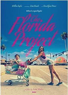 キャンバス絵画フロリダプロジェクトクラシック映画画像キャンバスポスターとプリントHDプリント油絵壁画リビングルーム家の装飾フレームレス絵画