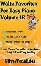Waltz Favorites for Easy Piano Volume 1E