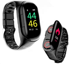 New Upgrade Smartwatch Bluetooth Wireless Earbuds 2 in 1 Indoor Sport Activity Trackers..