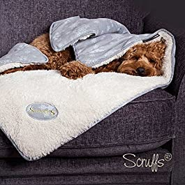 Scruffs Pet Christmas Winter Wonderland Snuggle Blanket (Red)