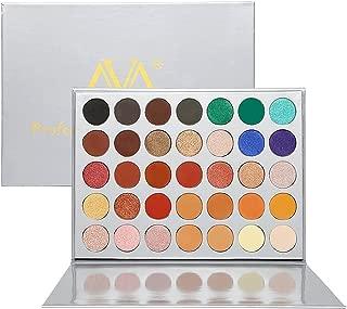 Eyeshadow Makeup Palette, Valuemakers 35 Colors Waterproof & Ultra Pigmented Make-up Eye Shadows - Matte and Shimmer EyeShadow Powder Cosmetic Makeup Set- Vegan and Cruelty Free