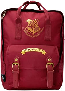 Harry Potter Hogwarts - Mochila escolar unisex para niños y niñas, mochila de lona para camping - Espaciosa bolsa para portátil