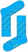 Happy Socks Unisex Dots Combed Cotton Crew Socks