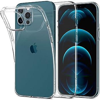 Spigen iPhone 12 Pro Max ケース 6.7インチ リキッド・クリスタル MagSafe 対応 ケース クリアケース TPUカバー 全面クリア 超薄型 超軽量 アイフォン12プロマックスケース (クリスタル ・クリア)