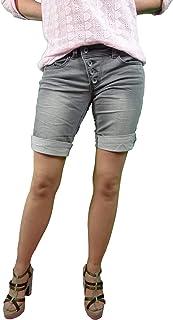 Buena Vista Vaqueros De Mujer Malibu krempel Cortos Bermudas Pantalón Capri joggpants Sudadera Denim