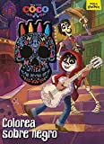 Coco. Colorea sobre negro: Libro para colorear con ceras (Disney. Coco)...